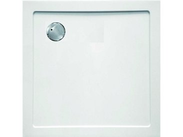 Sanotechnik Duschwanne »SMC«, quadratisch, Kunststoff, eckig, BxT: 90 x 90 cm