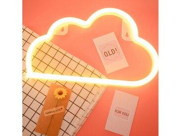 TOPMELON LED Nachtlicht »LED Neonlicht«, gelb, Warmweiß Wolke