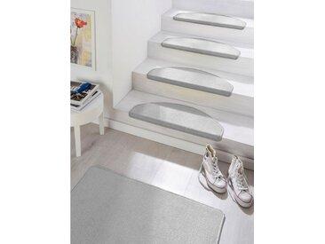 HANSE Home Stufenmatte »Fancy«, stufenförmig, Höhe 7 mm, grau, grau
