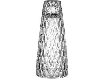Villeroy & Boch Großer Kerzenständer, 21,5 cm »Boston«, weiß, 215mm, klar