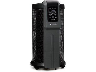 Klarstein 360°-Heizstrahler 2200W Thermostat »Datscha Digital«, schwarz, schwarz