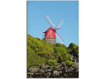 Artland Wandbild »Windmühle«, Gebäude (1 Stück), Leinwandbild