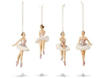 Mirabeau Figur 4er Set »Tadley«, weiß, weiß/rosa