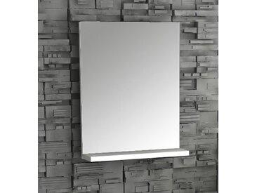"""VCM Wandspiegel """"Sesal"""", weiß, Weiß"""