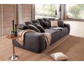 Home affaire Big-Sofa, Breite 302 cm, Lounge Sofa mit vielen losen Kissen, grau, anthrazit