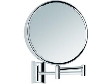 Libaro Kosmetikspiegel »Imola«, 360° Schminkspiegel mit Wandmontage, Rasierspiegel doppelseitig mit Vergrößerung (3x / 10x)