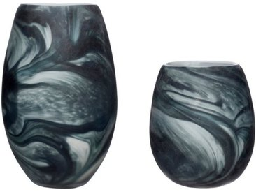Hübsch Dekovase »Sundby Marmor-Art«