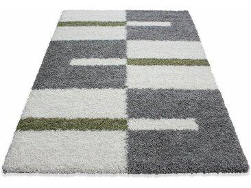 Ayyildiz Hochflor-Teppich »Gala Shaggy 2505«, rechteckig, Höhe 30 mm, grün, grün