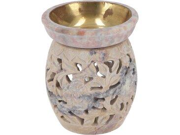 Guru-Shop Duftlampe »Indische Duftlampe, ätherisches Öl Diffusor,..«, Rund Blüte 3