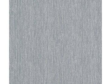 A.S. Création Vinyltapete, Unitapete Grau Papiertapete 363261 Wandtapete Modern Strukturiert