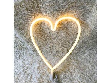 TOPMELON LED Nachtlicht »LED Neonlicht«, gelb, Heart-Warmweiße