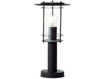 Brilliant Leuchten York Außensockelleuchte 40cm schwarz matt, schwarz, schwarz matt