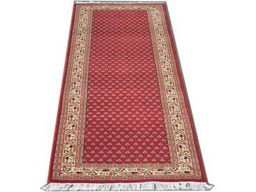 RaumTex Heinrich Läufer »Läufer Sarough Mir«, geeignet für Fußbodenheizung, rot, rot