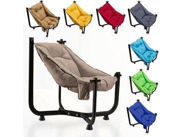 Comfy Gartensessel »Hängesessel, Hängemattensessel, Hängestuhl, Hängemattenstuhl«, beige, Hellbraun
