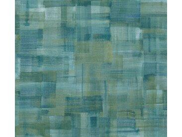 A.S. Création Vliestapete »Geo Nordic«, strukturiert, Farbverlauf, mit Muster, grün, grün-türkis-blau