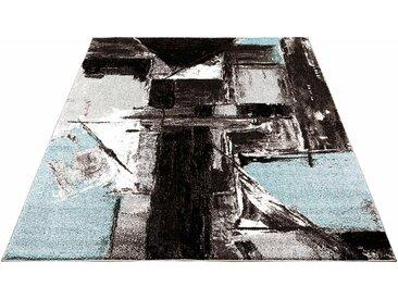 Carpet City Teppich »Moda 1134«, rechteckig, Höhe 11 mm, Kurzflor, blau, blau