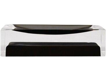 Seifenschale »Colours«, Breite: 7 cm, rechteckig, schwarz, schwarz