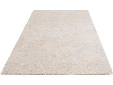 my home Hochflor-Teppich »Magong«, rechteckig, Höhe 25 mm, besonders weich durch Microfaser, natur, natur