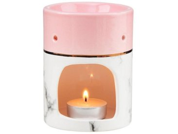 BUTLERS Duftlampe » AMBIANCE Aromalampe Duftwax Marmor«, rosa, Rosa