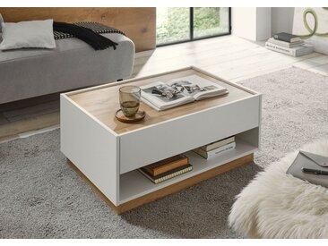 INOSIGN Couchtisch »CiTY Couchtisch 61«, im modernen Design, weiß, Weiss