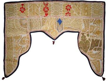 Guru-Shop Wandteppich »Orientalischer Wandbehang, indischer Toran,..«, Höhe 80 mm
