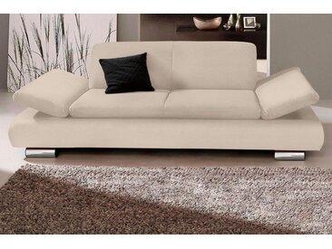 Max Winzer® 2-Sitzer »Toulouse«, mit klappbaren Armlehnen, Breite 190 cm, natur, beige