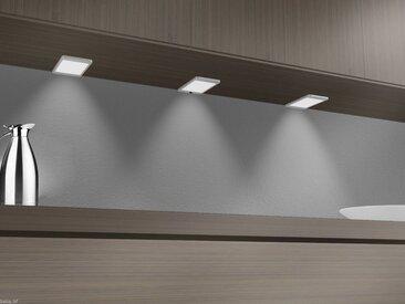 kalb Material für Möbel LED Panel »LED Unterbauleuchte, silber-grau, neutralweiss, ohne Sensor, 1er SET«, grau, 1 flg. - 1 St. - ohne Sensor - 4000 K