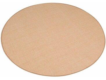 Living Line Sisalteppich »Trumpf«, rund, Höhe 6 mm, Obermaterial: 100% Sisal, Wohnzimmer, natur, natur