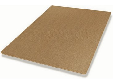 Dekowe Sisalteppich »Mara S2, gekettelt, Wunschmaß«, rechteckig, Höhe 5 mm, Obermaterial: 100% Sisal, Wohnzimmer, braun, haselnuss