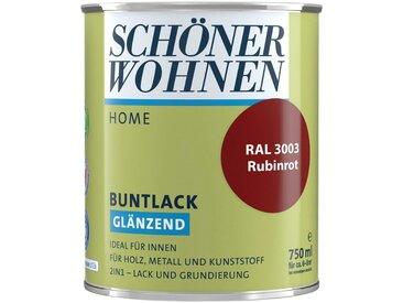 SCHÖNER WOHNEN-Kollektion SCHÖNER WOHNEN FARBE Lack »Home Buntlack«, glänzend, 750 ml, rubinrot RAL 3003, rot, rot