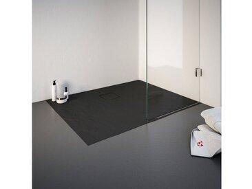 Schulte Duschwanne, rechteckig, Mineralguss, rechteckig, BxT: 800 x 1000 mm