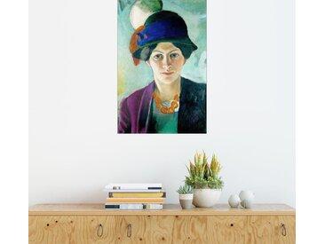 Posterlounge Wandbild, Elisabeth mit Hut, Premium-Poster
