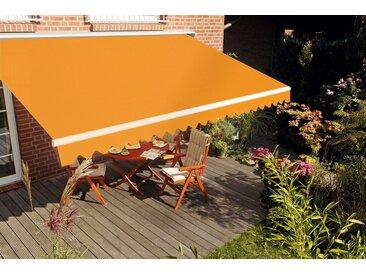 Spettmann Gelenkarmmarkise »STAR« Breite/Ausfall: 300x250 cm, orange, orange