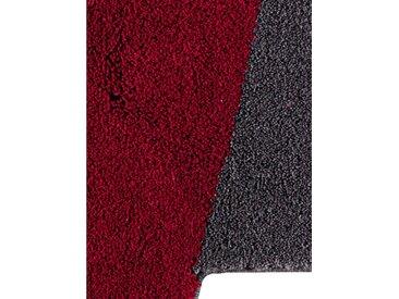 Grund Badgarnitur in außergewöhnlicher Form, rot, rot/grau