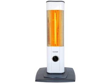 Vasner Heizstrahler »StandLine Mini 12«, 1200 W, 2 Heizstufen, Thermostat, weiß, weiß