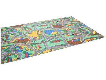 Snapstyle Kinderteppich »Kinder Spiel Straßenteppich Grün«, Höhe 4 mm