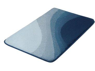 Kleine Wolke Badematte »Malin« , Höhe 20 mm, rutschhemmend beschichtet, fußbodenheizungsgeeignet, blau, blau