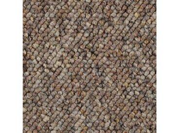 Bodenmeister BODENMEISTER Teppichboden »Korfu«, Schlinge gemustert, Breite 200/300/400 cm, braun, braun/beige