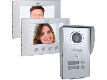 Elro »DV477W2« Smart Home Türklingel (Außenbereich, Innenbereich, Video Gegensprechanlage 2 Monitore)