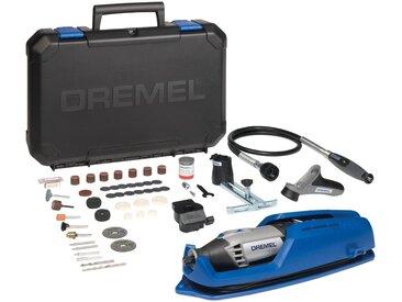 DREMEL Multifunktionswerkzeug »4000-4/65 EZ«, inkl. 65-tlg. Zubehörset und Koffer, grau, grau
