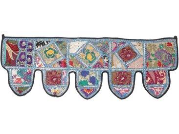Guru-Shop Wandteppich »Orientalischer Wandbehang, indischer Toran,..«, Höhe 30 mm, Design 8