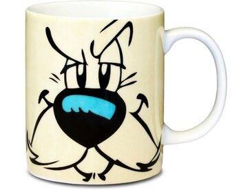LOGOSHIRT Tasse mit tollem Asterix-Print »Idefix Gesicht«, bunt, farbig