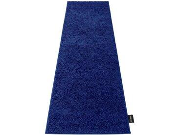 Bruno Banani Hochflor-Läufer »Shaggy Soft«, rechteckig, Höhe 30 mm, gewebt, blau, kobalt