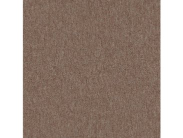 Teppichfliese »Neapel sand«, 4 Stück (1 m²), selbstliegend, braun, sandfarben