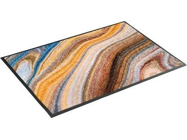 wash+dry by Kleen-Tex Fußmatte »Granito«, rechteckig, Höhe 7 mm, waschbar