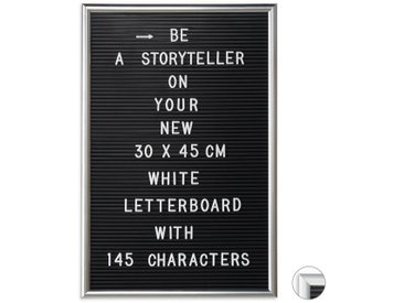 relaxdays Memoboard »Letterboard 30 x 45 cm«