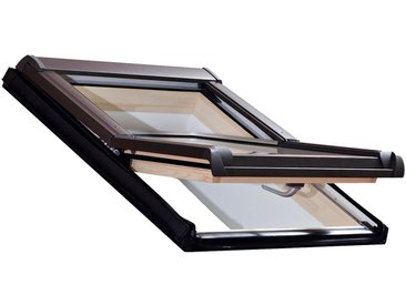 RORO Türen & Fenster Dachfenster »Typ DHE214«, BxH: 94x118 cm, kieferfarben