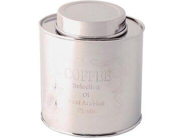 440s Aufbewahrungsdose » Metall Dose COFFEE, silberfarben«