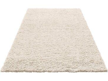 Home affaire Hochflor-Teppich »Viva«, rechteckig, Höhe 45 mm, gewebt, natur, natur