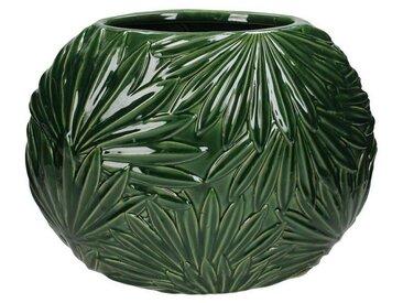 Engelnburg Dekovase » Hochwertige Blumenvase Vase Palmblatt«